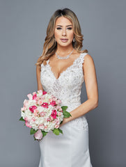 Lovely Wedding Dress Style 410