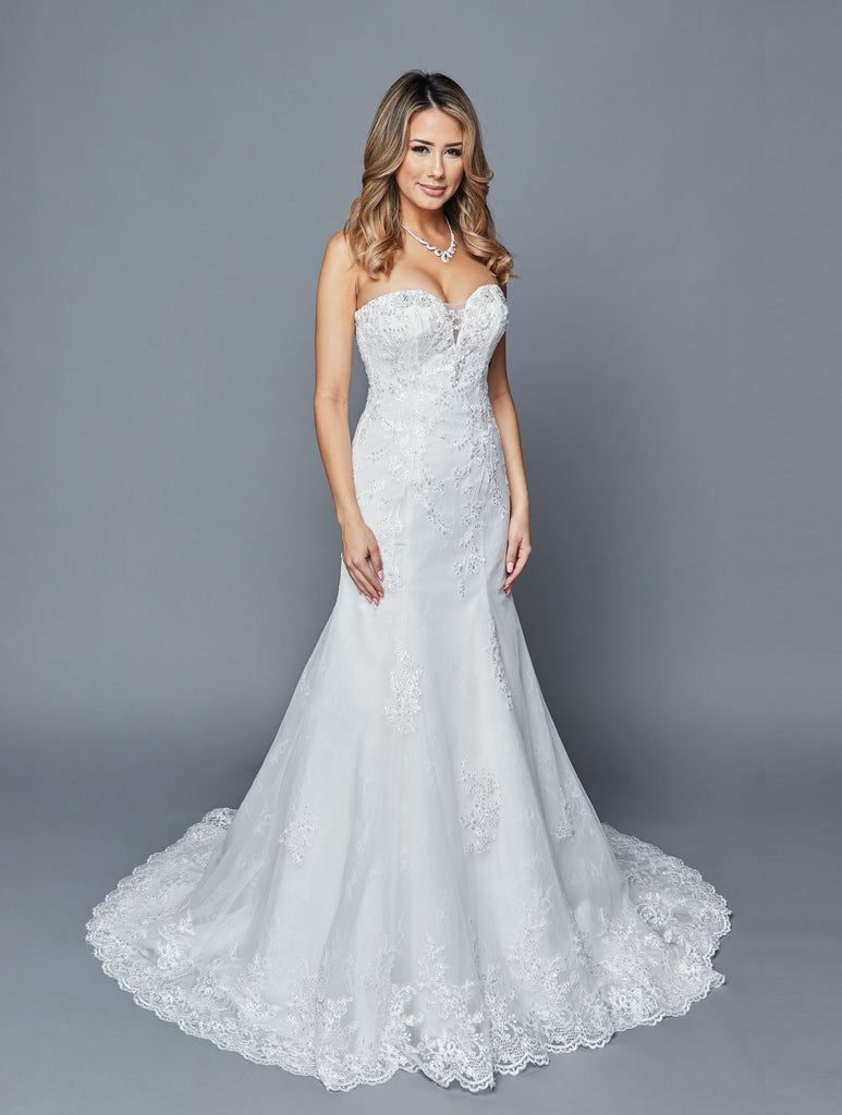 Lovely Wedding Dress Style 415