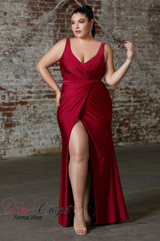 Style CD157 Plus Size Dress