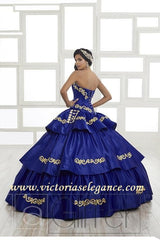 House of Wu LA Glitter Collection Quinceanera Dress Style 24022