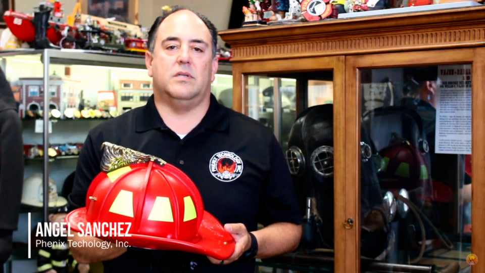 Phenix Technology Creates Custom Leather Helmet in Memory of the Charleston 9