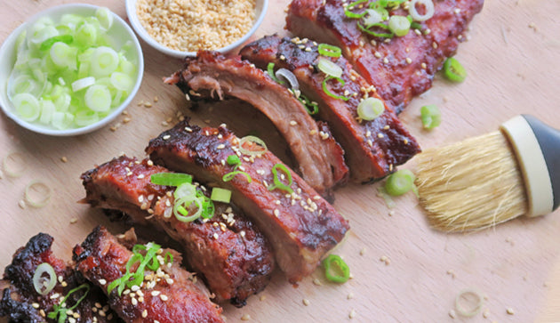 Grilled Baby Back Ribs with Plum and Get It