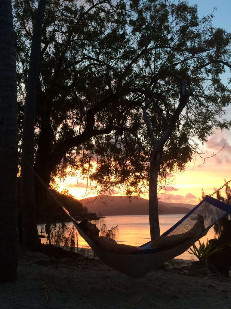 Hammock chills and sunsets in Long Island