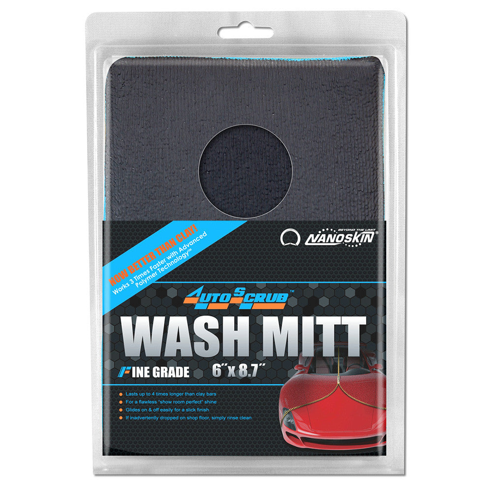 "• Lasts up to 4 times longer than clay bars <br>• For a flawless ""show room perfect"" shine <br>• Glides on & off easily for a slick finish <br>• If inadvertently dropped on shop floor, simply rinse clean"