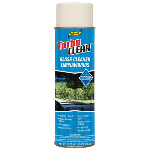 SM Arnold AEROSOL 18 OZ TURBO CLEAR AMMONIATED GLASS CLEANER