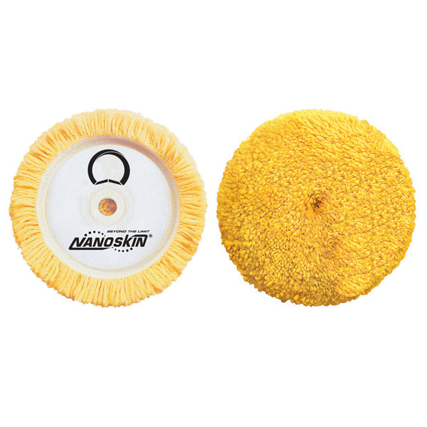 "7.5"" Twisted Wool & Synthetic 4-ply Polishing Pad"