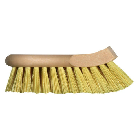 Heavy Duty Interior & UPHOLSTERY Brush - Cream Polypropylene
