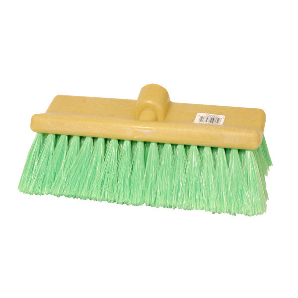 "10"" Bi-Level Wash Brush - Green Nylon"