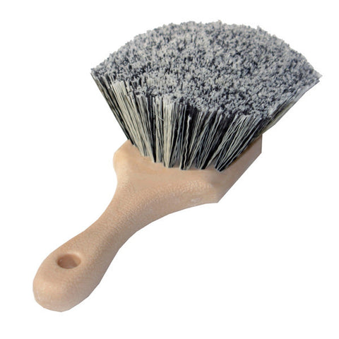 "8.5"" Flagged-Tips Salt & Pepper Polystyrene Bristles Brushes"