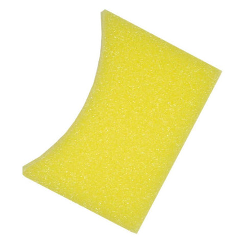 "2.375"" x 3.625"" x3 "" Yellow Tire Dressing Applicator"