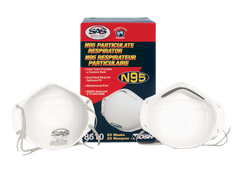 N95 Particulate Respirator, Pack of 20