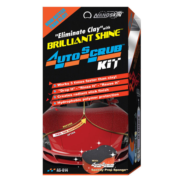 "NANOSKIN ""Eliminate Clay"" with AUTOSCRUB Brilliant Shine Kit"