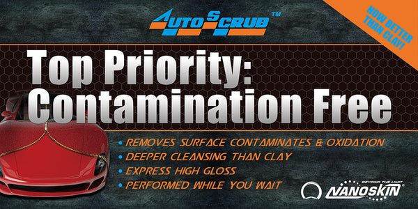 AUTOSCRUB Top Priority Contamination Free