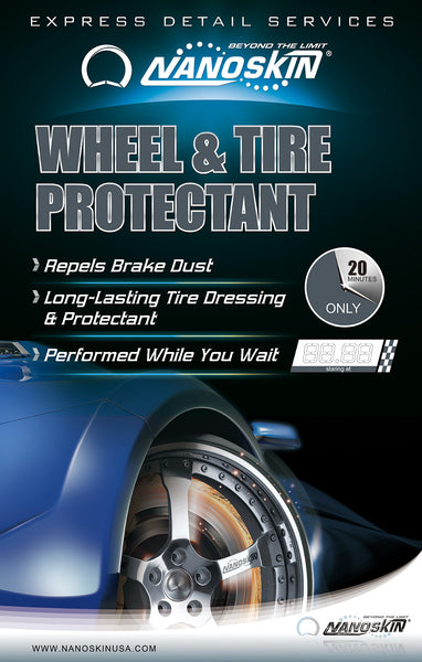 Wheel and Tire Cleaning & Protectant