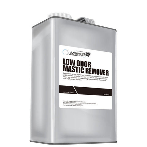 • remove asphalt and solvent based mastics commonly found under asbestos containing VAT and VCT floor tile<br> • When sub-floors are rinsed, new flooring may be installed <br>• does NOT contain asbestos