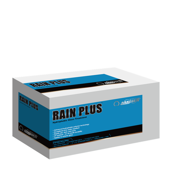 RAIN PLUS Hydrophobic Glass Treatment System