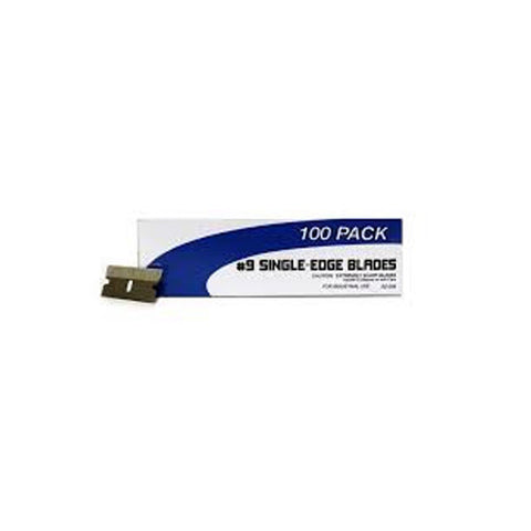 Single Edge Razor Blades, 100 Blades per box