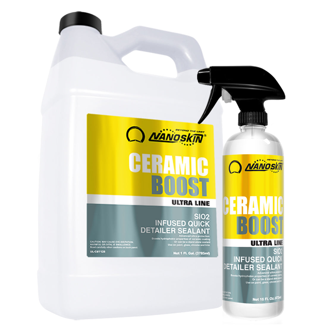 (UL-CBT) CERAMIC BOOST SiO2 Infused Quick Detailer Sealant
