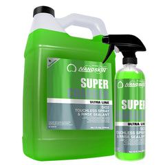 SUPER-CHARGER SiO2 Touchless Spray & Rinse Sealant RTU / 100:1