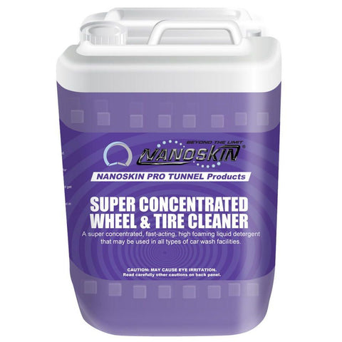 • Powerful<br>• Versatile <br>• Free-rinsing <br>• Economical <br>• High Foaming<br>• Penetrates and loosens road soil and brake dust on all types of wheel and tire surfaces <br>• May be used as both a wheel and tire cleaner <br>• Rinses freely to help prevent streaking <br>• Copious foam allows for complete coverage and excellent clinging of product to wheel and tire surfaces