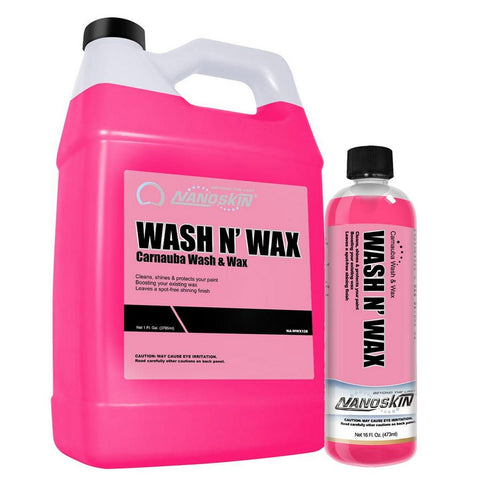 WASH N' WAX Carnauba Wash & Wax 99:1