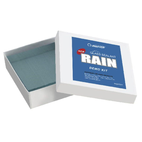 RAIN GLASS Demo Kit (Scratch Resistance Demo)