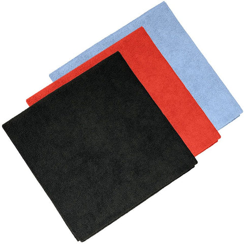 12 Traditional Edge-less Microfiber Towels