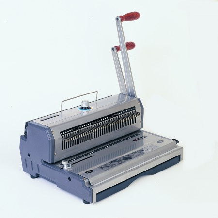 WIREMAC Manual Desktop 2:1 Round Wire Punch / Binder