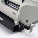 JBI PB3300 Electric Punch & Bind machine with 3:1 Round (4mm) hole punch tool