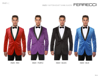 Ferrecci USA Affordable Formal Men's Wear Experts