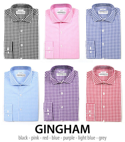 Gingham & Virgo Shits - Career Boosters! Look Good & Succeed!