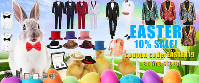 Easter 2019: Best Gift Ideas & Must Have Men's Formal Wear Fashion Items. New 2019 Discount Code Available!
