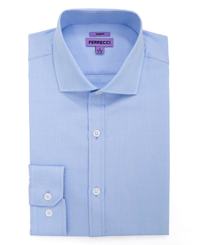 The Ambassador Slim Fit Cotton Dress Shirt - Ferrecci USA