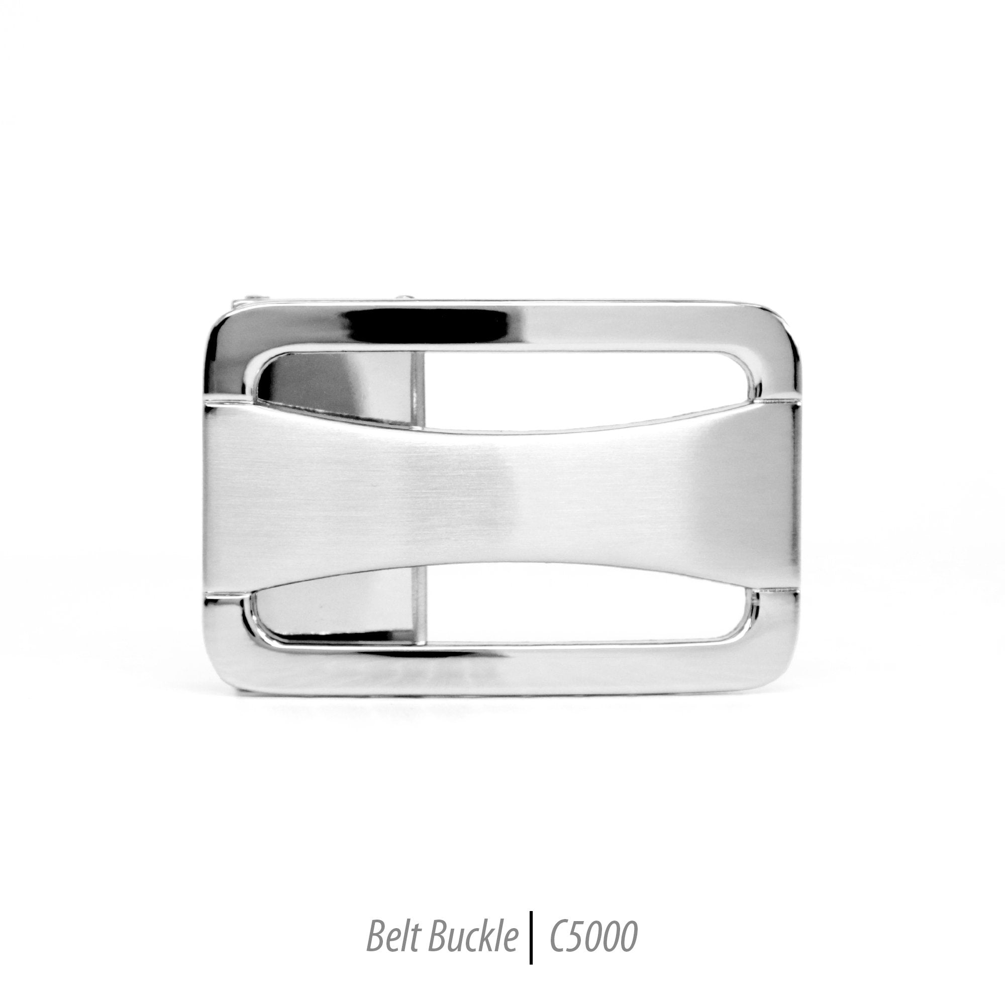 Ferrecci Men's Stainless Steel Removable Belt Buckle - C5000