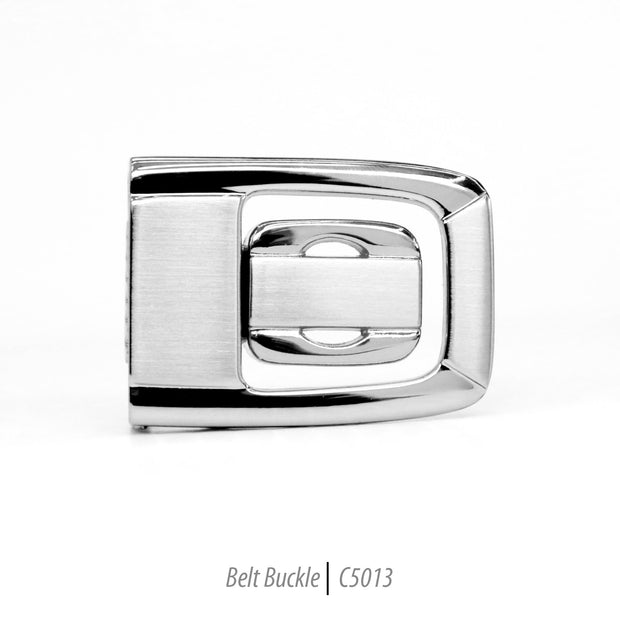 Ferrecci Men's Stainless Steel Removable Belt Buckle - C5013 - Ferrecci USA