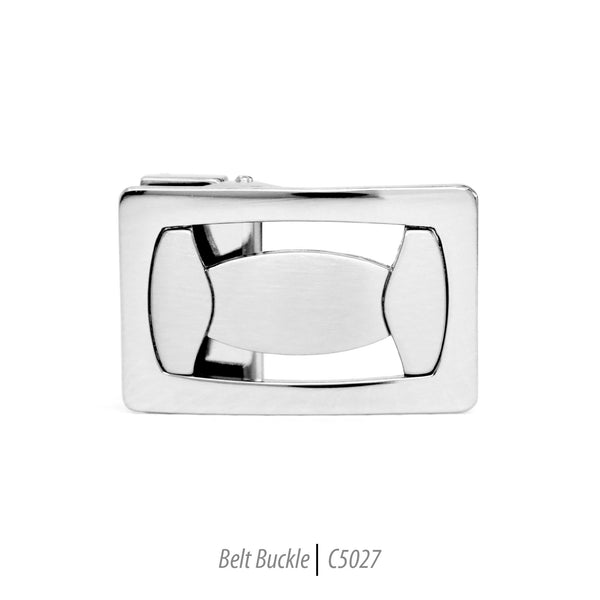 geometric pattern design mens belt buckle