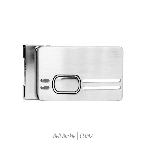 Ferrecci Men's Stainless Steel Removable Belt Buckle - C5042
