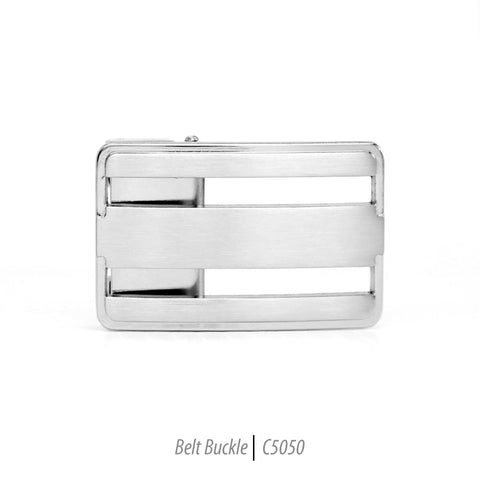 Ferrecci Men's Stainless Steel Removable Belt Buckle - C5050
