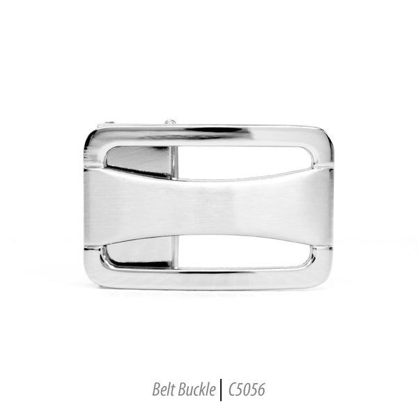 stainless steel mens fashion belt buckle rectangle