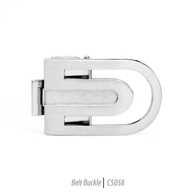 Ferrecci Men's Stainless Steel Removable Belt Buckle - C5058 - Ferrecci USA