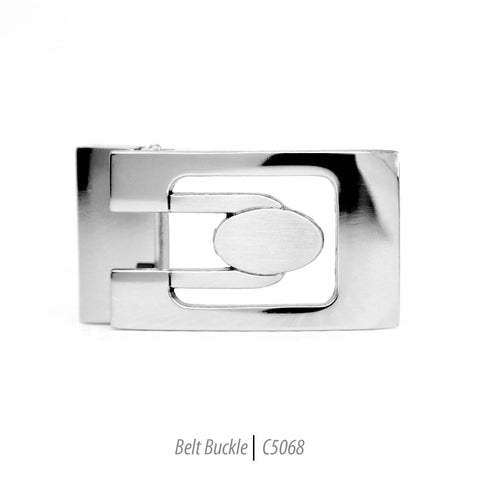Ferrecci Men's Stainless Steel Removable Belt Buckle - C5068