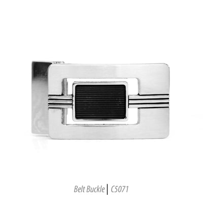 Ferrecci Men's Stainless Steel Removable Belt Buckle - C5071