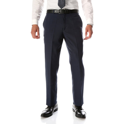 Ben Blue Wool Blend Modern Fit Traveler Pants - Ferrecci USA