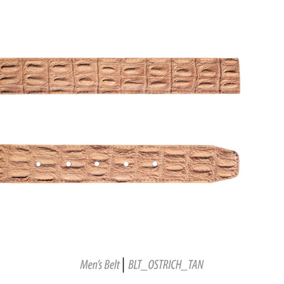 tan mens leather belt classic Ferrecci