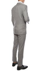 Celio Grey Slim Fit 3pc Tuxedo