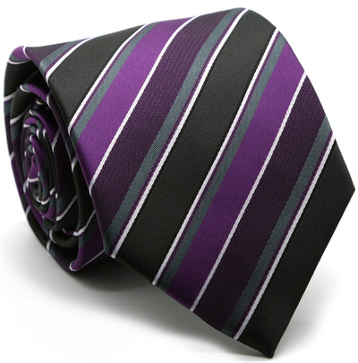 Premium Striped & Diamond Patterned Ties