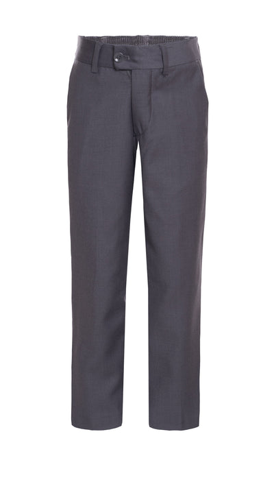 Ferrecci Boys Ezra Light Grey Dress Pants