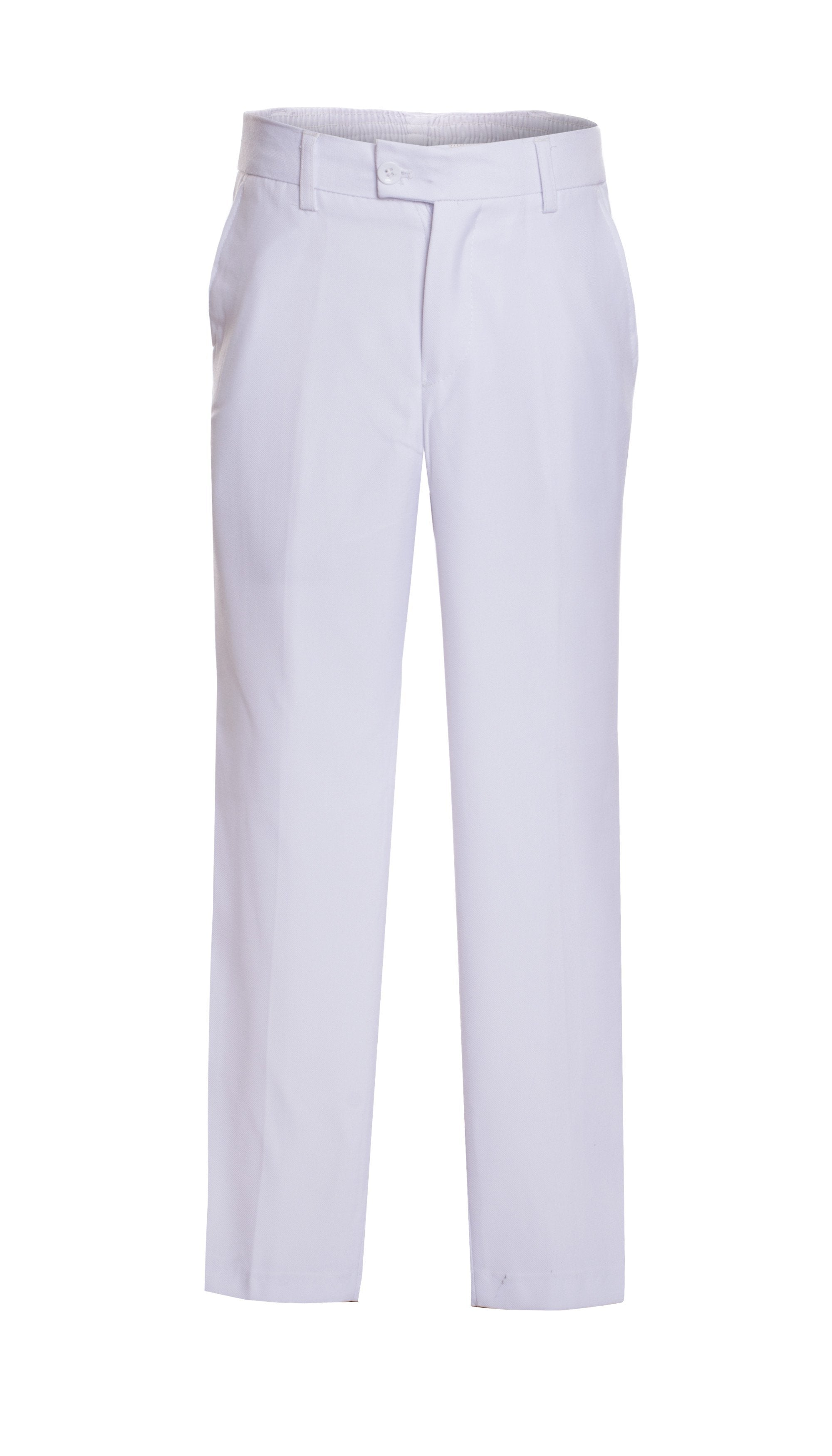 Ferrecci Boys Ezra White Dress Pants