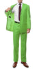 Premium FE28001 Apple Green Regular Fit Suit