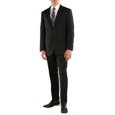 Black Regular Fit Suit 2 Piece Ford - Ferrecci USA
